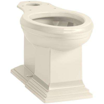 Memoirs Elongated Toilet Bowl Only in Almond
