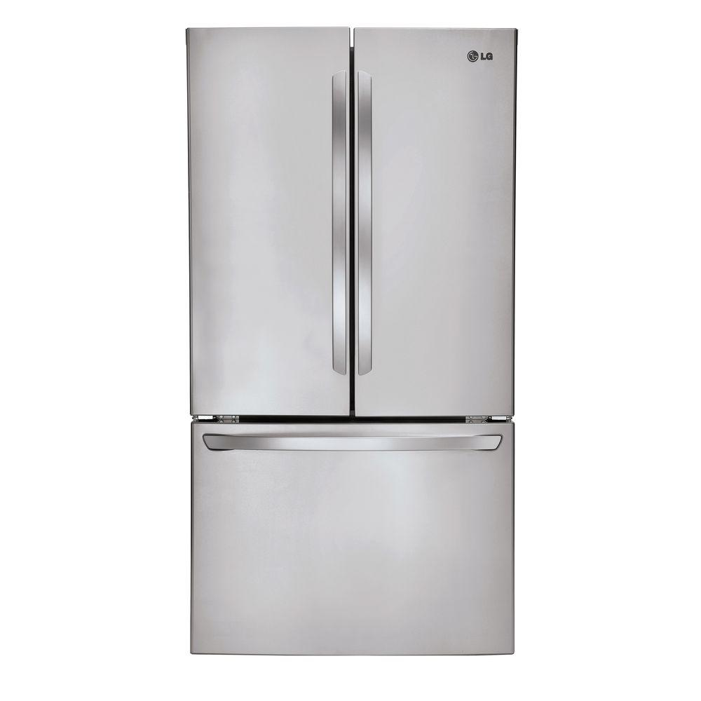 LG Electronics 31 cu. ft. French Door Refrigerator in Stainless Steel
