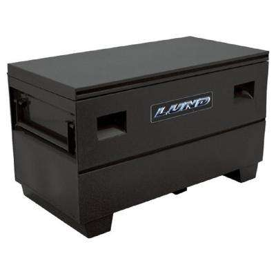 48 in. Steel Job Site Tool Box, Black