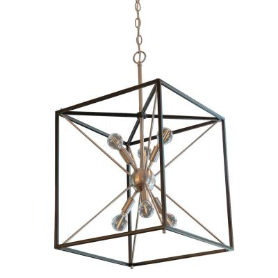 Sadler 6-Light Stainless Steel Pendant