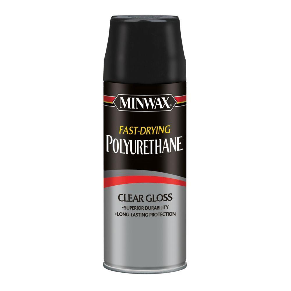 11.5 oz. Gloss Fast-Drying Polyurethane Aerosol Spray (6-Pack)