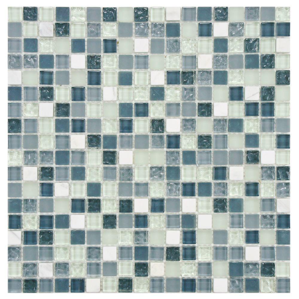 Merola Tile Tessera Alaskan View 11 3 4 In X