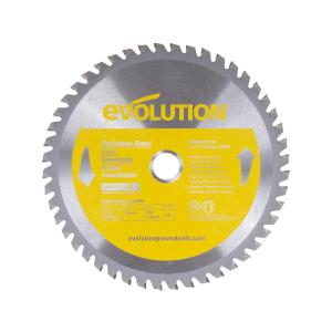 Evolution Power Tools 7-1/4 inch 48-Teeth Stainless-Steel Cutting Saw Blade by Evolution Power Tools