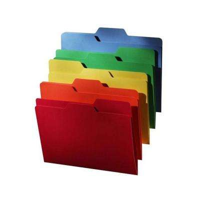 All Tab File Folder In Various Colors 80 Pack