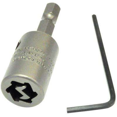 0.339 in. #10 2 in. One Way Screw Remover (1-Pack)