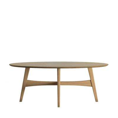 Calamar Natural Mid Century Cocktail Table