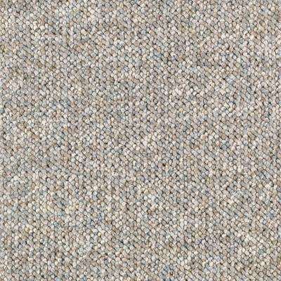 Carpet Sample - Tidewater - Color Dewdrop Loop 8 in x 8 in