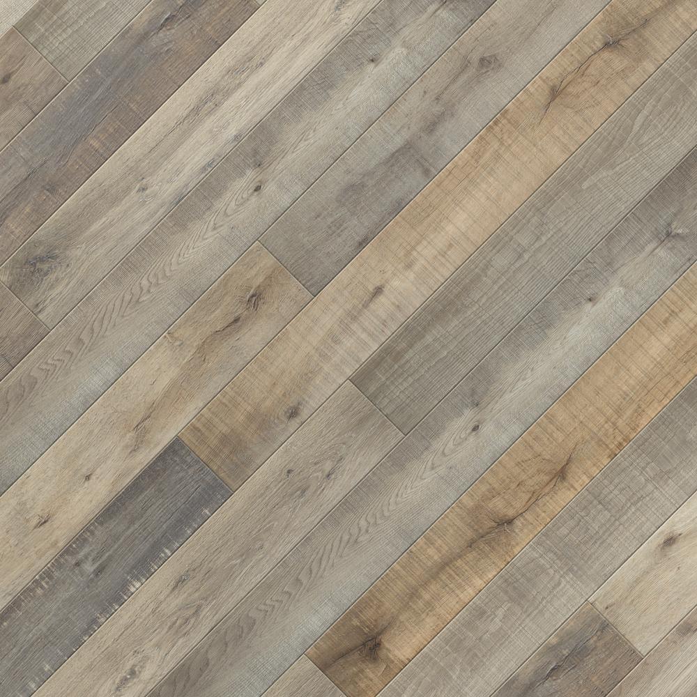 Take Home Sample - EIR Park Rapids Oak 12 mm Laminate Flooring- 5 in. x 7 in.