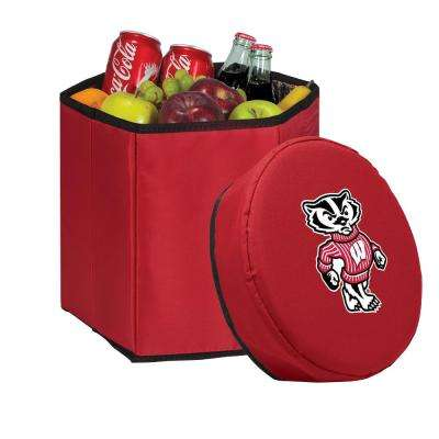 12 Qt. Wisconsin Badgers Red Bongo Cooler
