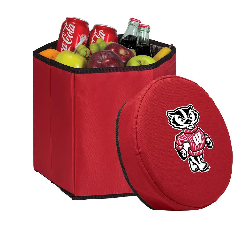 12 Qt. Wisconsin Badgers Red Bongo Cooler