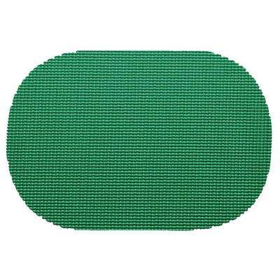 Emerald Fishnet Oval Placemat (Set of 12)