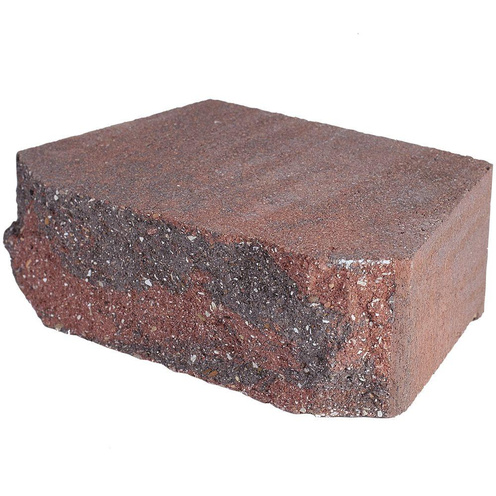 Pavestone 4 in. x 11.75 in. x 6.75 in. Oaks Blend Concrete Retaining Wall Block (144 Pcs. / 46.5 Face ft. / Pallet)