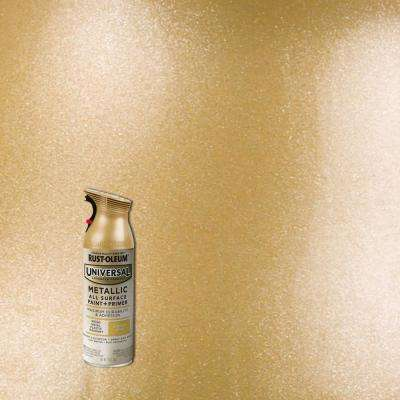 11 oz. All Surface Metallic Aged Vintage Gold Spray Paint and Primer in One