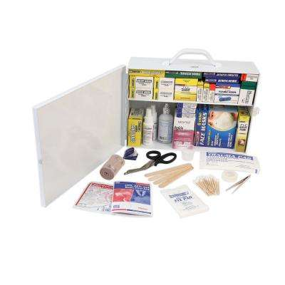 750-Piece 2-Shelf First Aid Cabinet