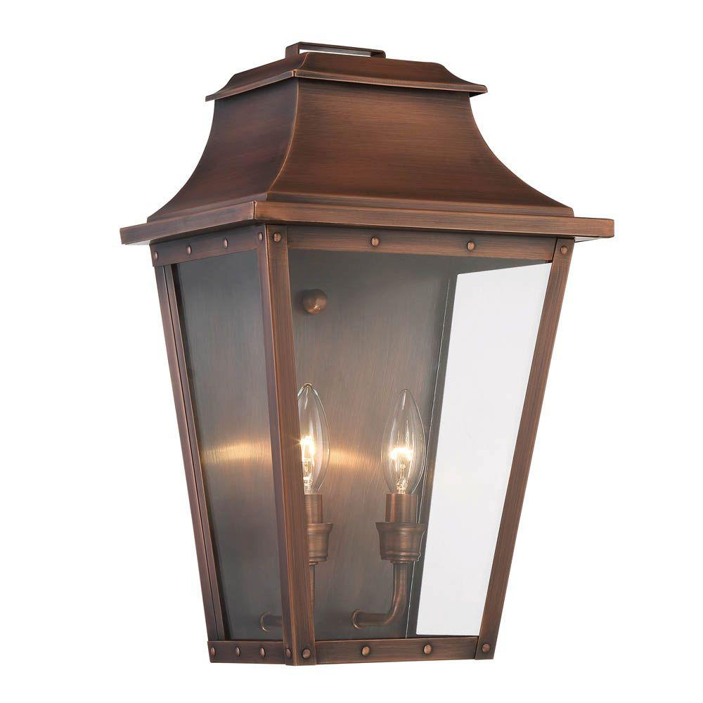 Acclaim Lighting Coventry Collection 2-Light Copper Patina