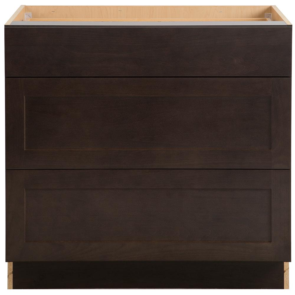 Cambridge Pantry Cabinets In Dusk: Hampton Bay Cambridge Assembled 36 In. X 34.5 In. X 24.6