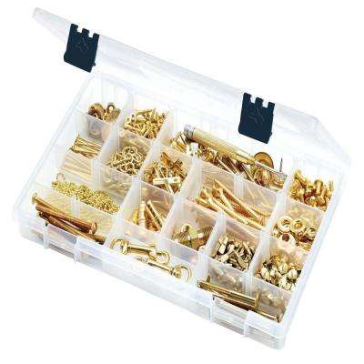 14 in. 15-Compartment Bin Small Parts Organizer