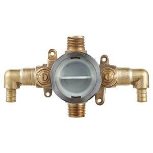 1//2-Inch CC Moen 2570 Rough-In PosiTemp Pressure Balancing Cycling Shower Valve with Stops