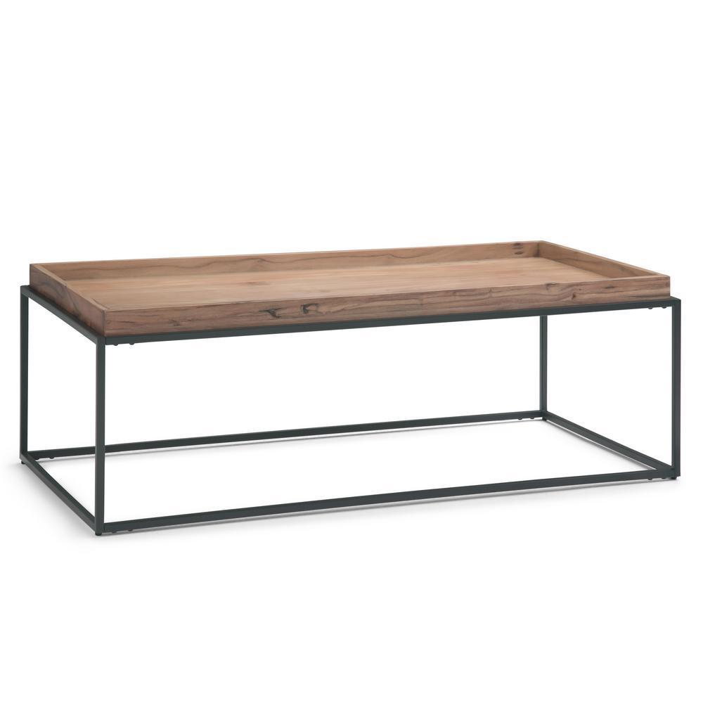 Carter Natural Acacia Tray Top Coffee Table