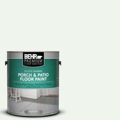 1 gal. #W-B-510 Frosted Juniper Gloss Interior/Exterior Porch and Patio Floor Paint