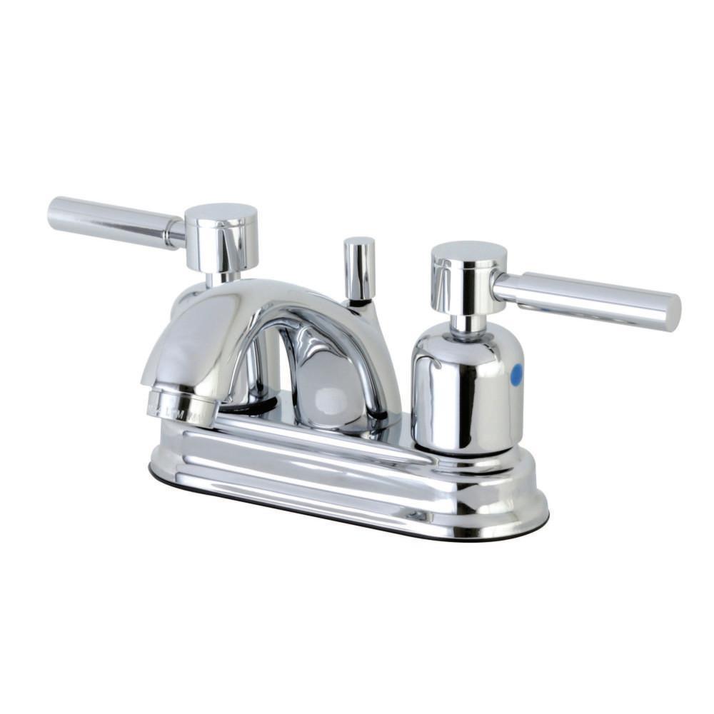 Kingston Brass Modern 4 In. Centerset 2-Handle Bathroom