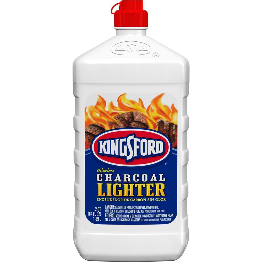 Kingsford 64 oz. Odorless Charcoal Lighter Fluid