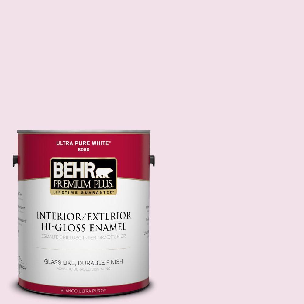 1-gal. #100A-2 Be Mine Hi-Gloss Enamel Interior/Exterior Paint