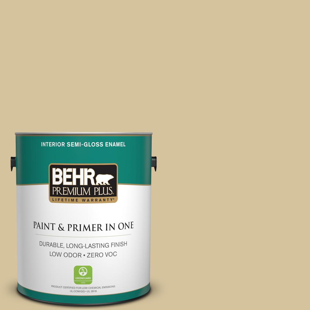 Home Decorators Collection 1-gal. #HDC-NT-02 White Oak Zero VOC Semi-Gloss