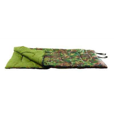 33 in. x 75 in. 3 lbs. Base Camp Sleeping Bag