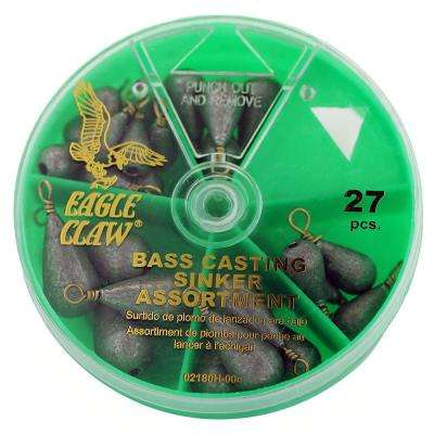 Bass Cast Sinker Assortment (27-Piece)