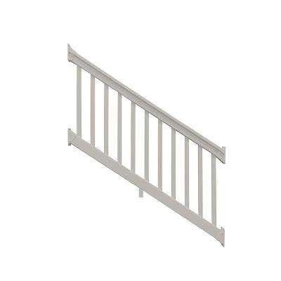 Riviera 42 in. x 72 in. Tan Vinyl Stair Railing Kit