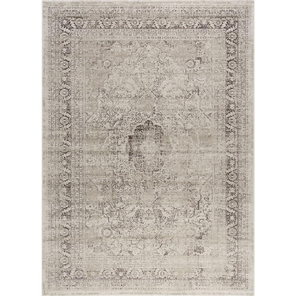 Tayse Rugs Concept Cream 4 Ft X 5 Ft Area Rug Cnc1002 4x6 The