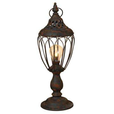 17.25 in. Metal Antique Lantern