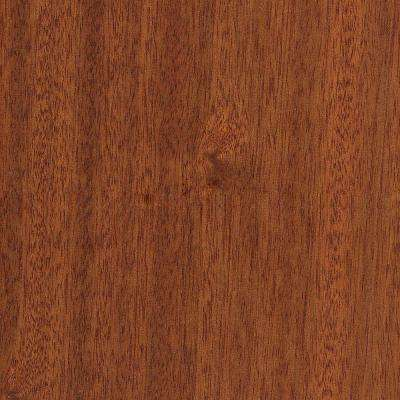 Cimarron Mahogany 3/8 in. Thick x 7-1/2 in. Wide x Varying Length Click Lock Hardwood Flooring (30.92 sq. ft. / case)