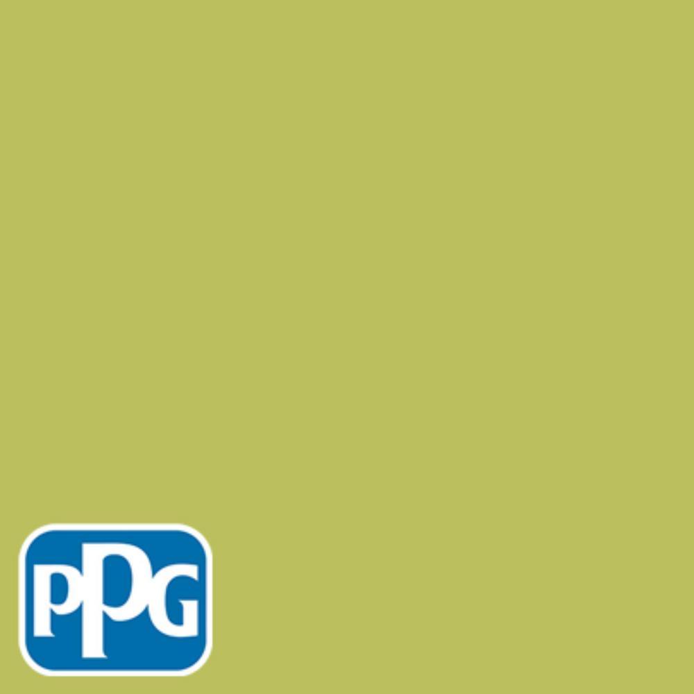 8 oz. #HDPPGG14D English Apple Flat Interior/Exterior Paint Sample