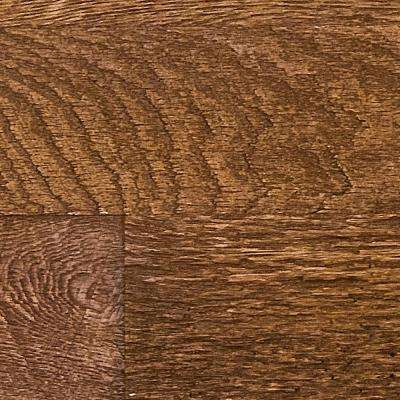 Superior 10 in. x 10 in. Faux Barnwood Panel Siding Sample Custom Walnut