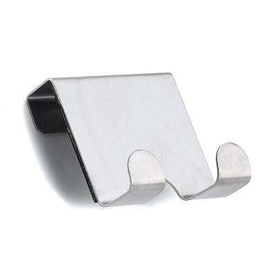 2-9/16 in. Stainless Steel Over-The-Door Utility Hook