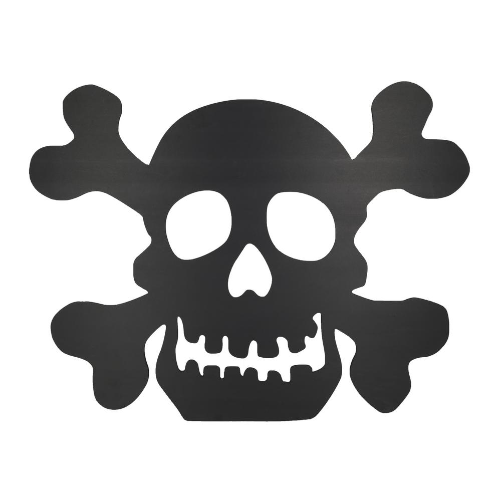 Design House 30 In Skull Silhouette Lawn Decoration