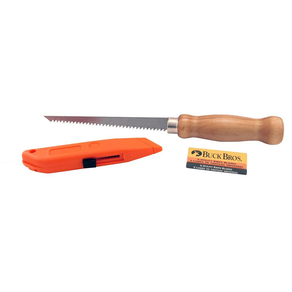 6 in. Utility Knife and Wallboard Saw Combo