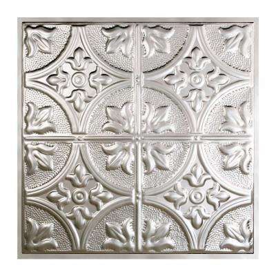 Jamestown 2 ft. x 2 ft. Lay-in Tin Ceiling Tile in Unfinished