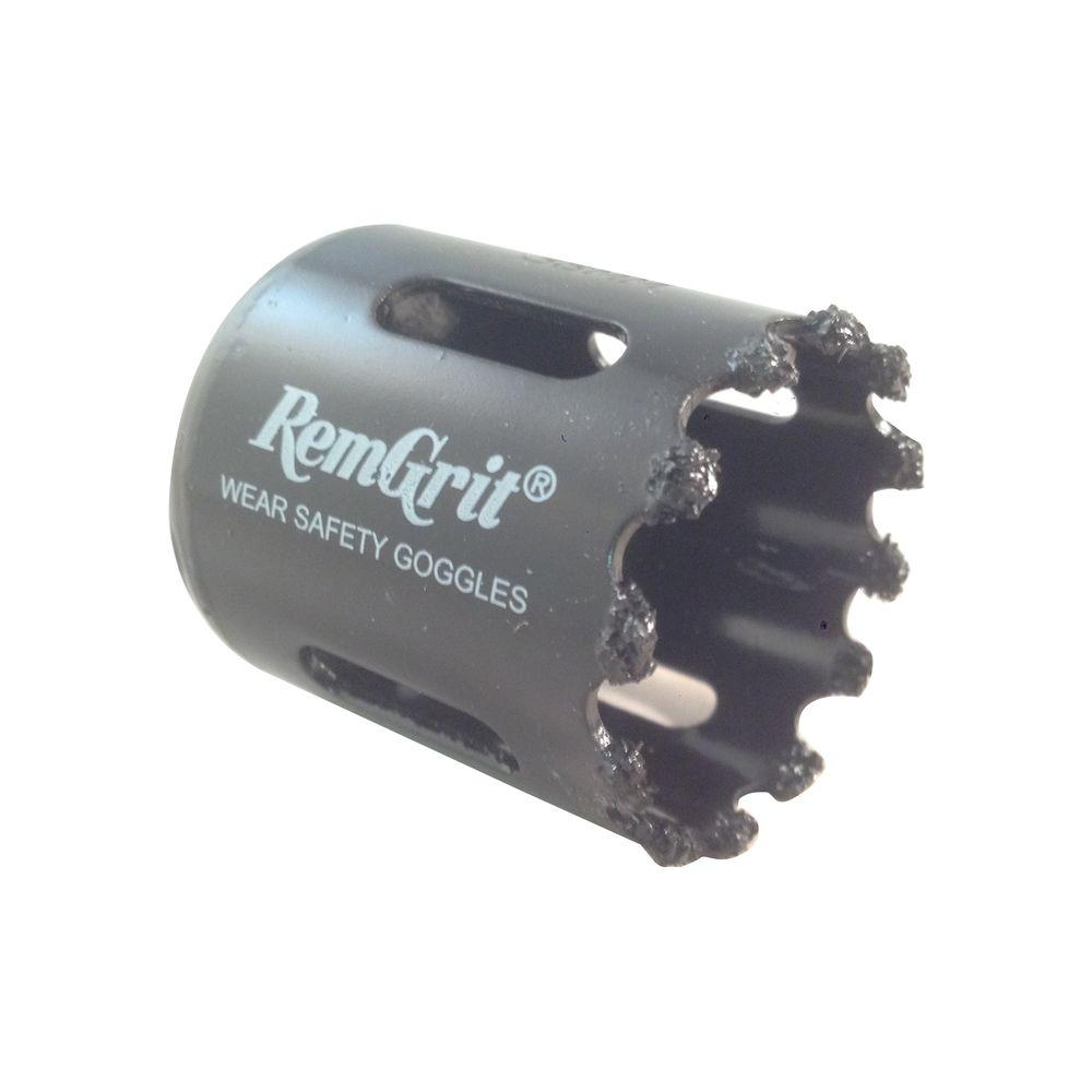 RemGrit 1-1/2 in. Diameter Carbide Grit Hole Saw