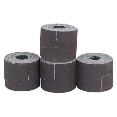 2 in. x 137 7/8 in. 100 Grit Aluminum Oxide Sanding Strips for Drum Sander (4-Piece)