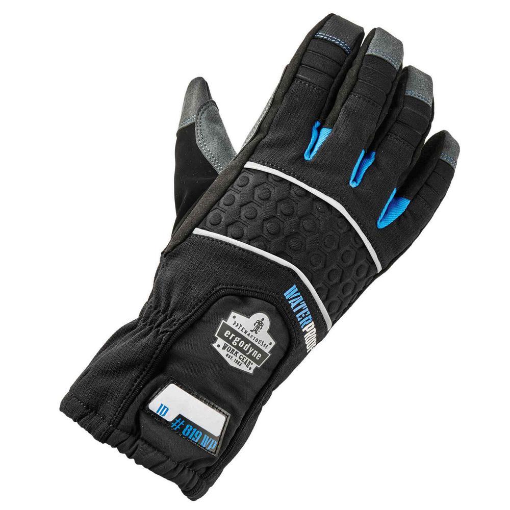 ProFlex Medium Black Extreme Thermal Waterproof Gloves