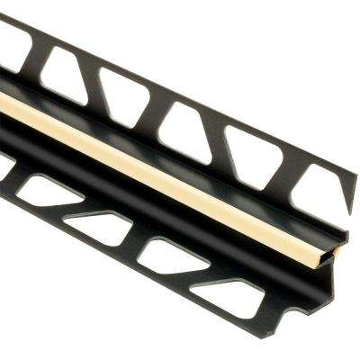 Dilex-EKE Sand Pebble 3/8 in. x 8 ft. 2-1/2 in. PVC Corner Movement Joint Tile Edging Trim
