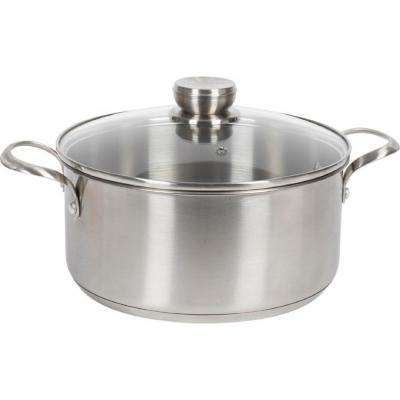 5 Qt. Stainless Steel Induction Compatible Stock Pot with Lid