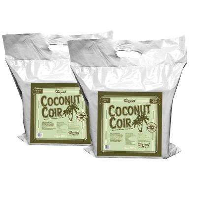 11 lb. Coconut Coir Block Soilless Grow Media (2-Pack)