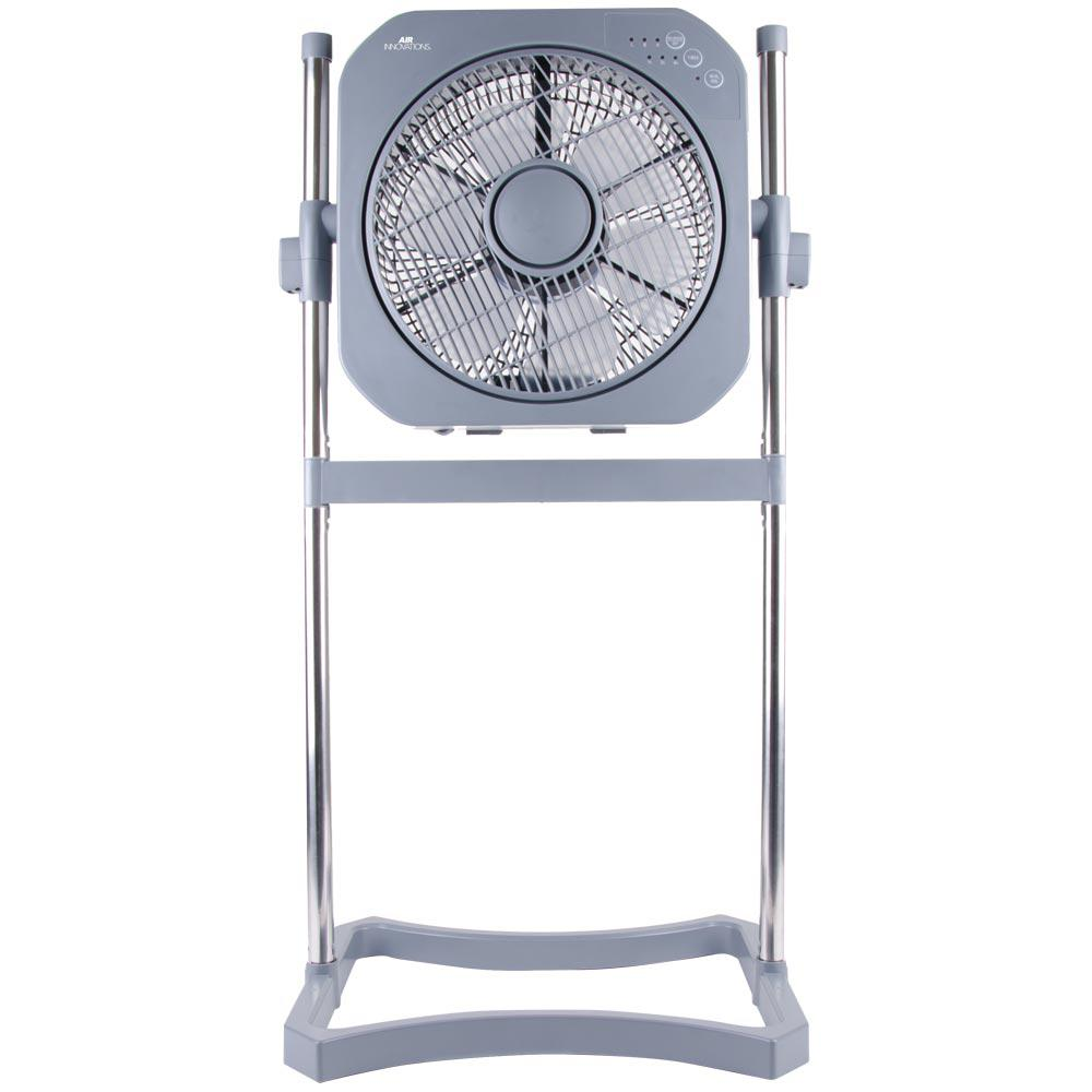 Box Fan Stand : Air innovations in speed stand fan with swirl