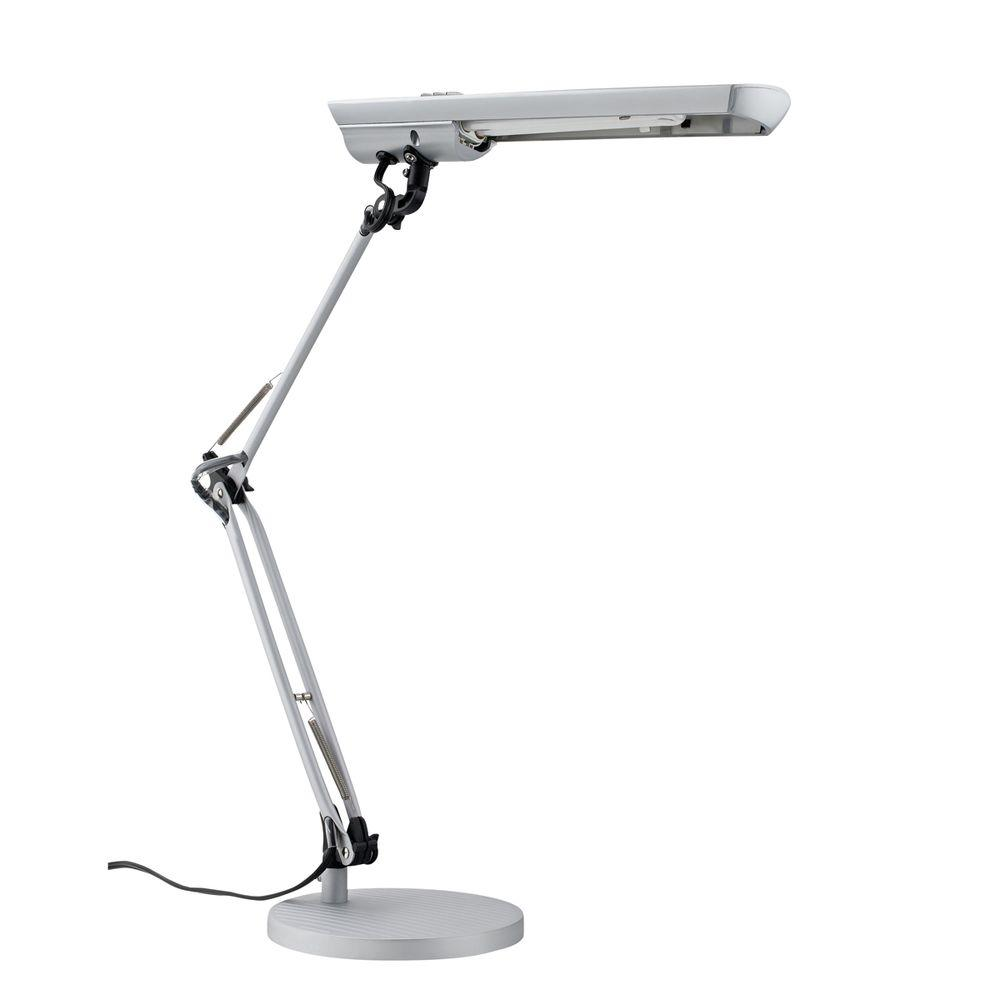 Superieur Silver Natural Full Spectrum Sun Light Desk Lamp
