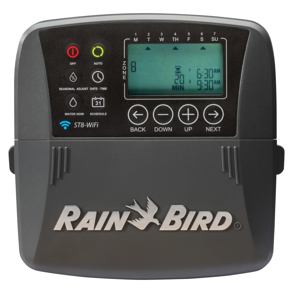 8-Zone Smart Irrigation Wi-Fi Timer