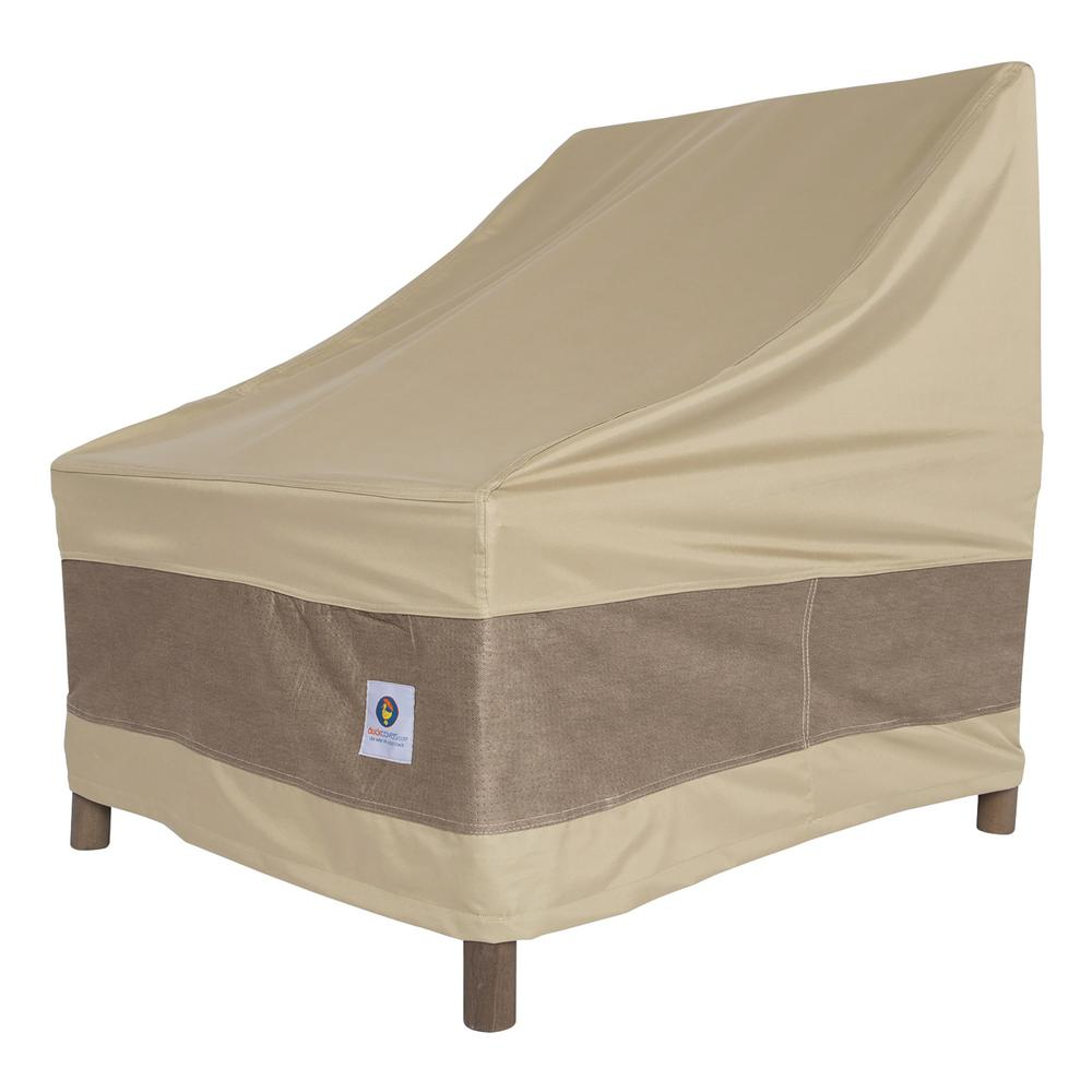 Elegant Stackable Patio Chair Cover  sc 1 st  Home Depot & Duck Covers Elegant Stackable Patio Chair Cover-LCH283049 - The Home ...